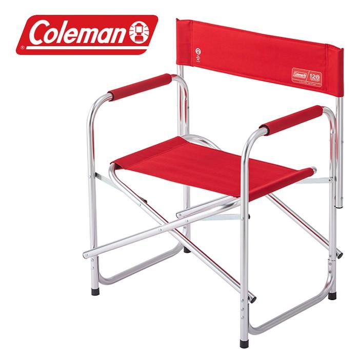 【Coleman 美國】120周年經典復刻導演椅 休閒椅 戶外椅 露營椅 (CM-37320M000)