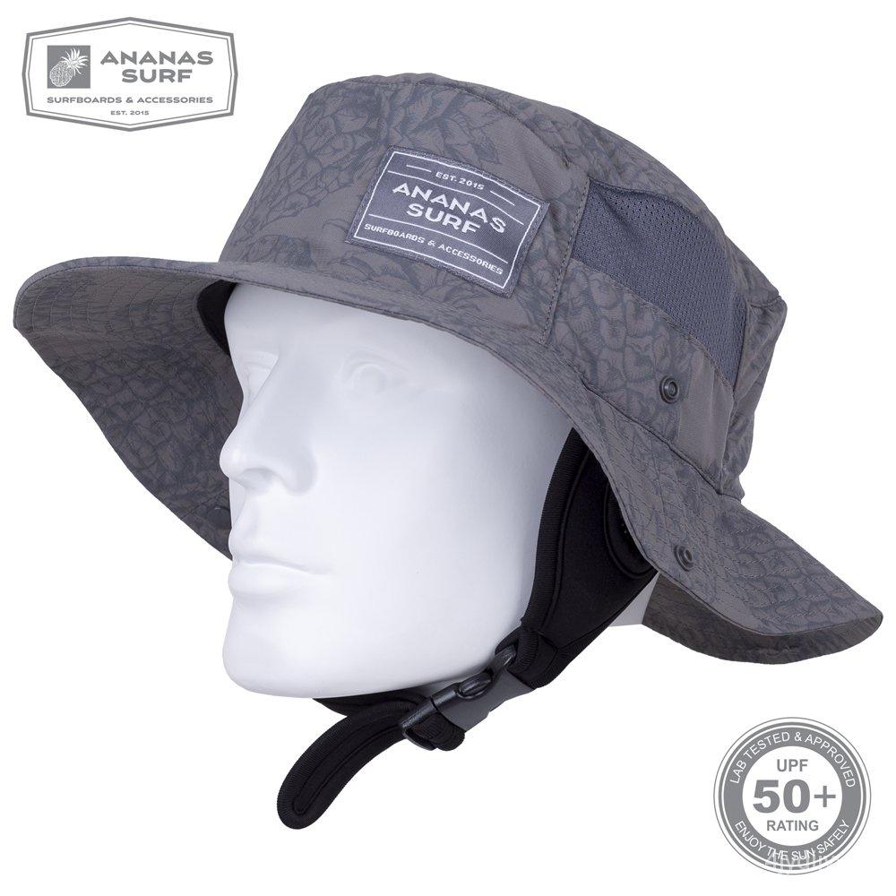 衝浪帽衝浪帽子ANANAS SURF漁夫男女夏天防曬防紫外線戶外速乾遮陽帽 c4pw