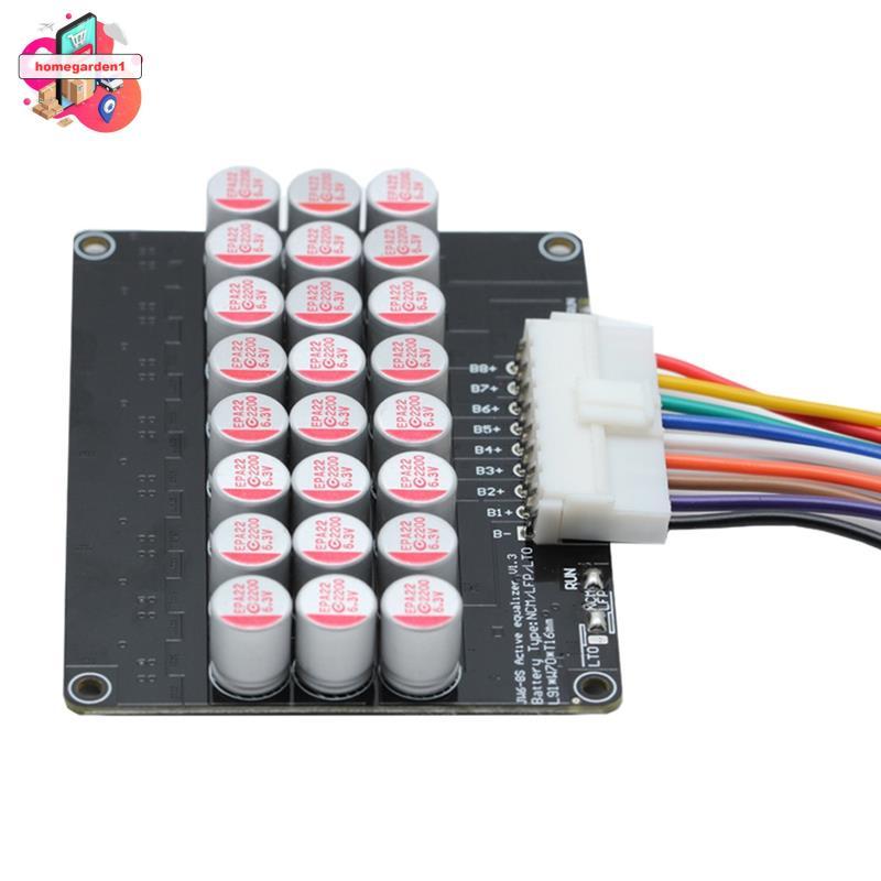 LTO LFP鋰離子電池有源均衡器通用的3S-8 5A電池平衡器