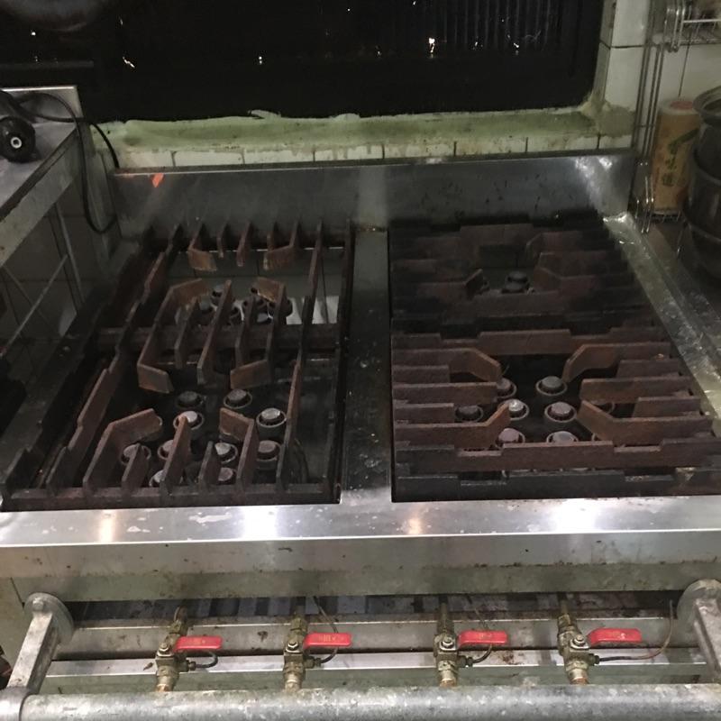 (二手)四口平台瓦斯爐、快速爐(自取)