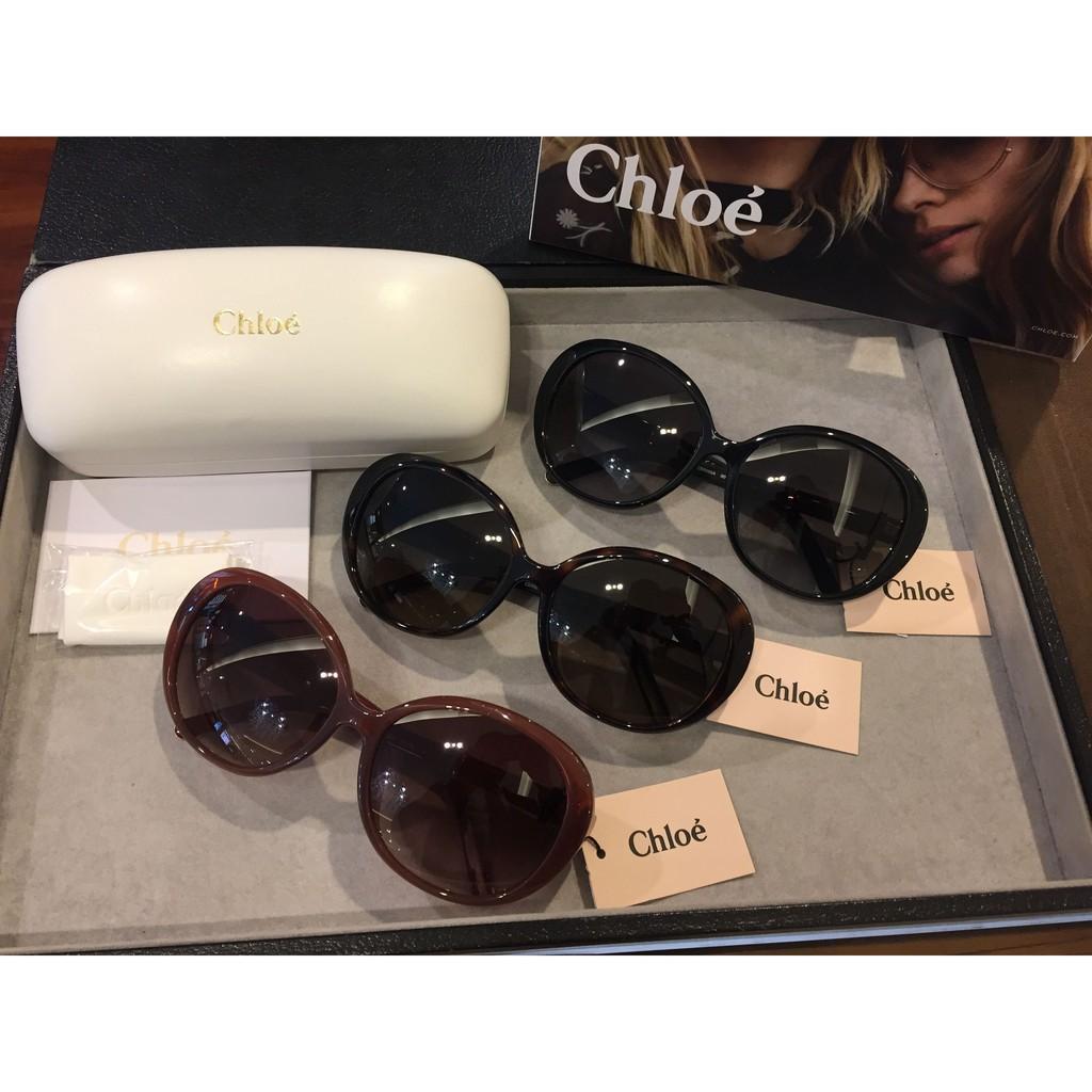 CHLOE CE698SA時尚經典果凍圓框太陽眼鏡