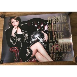 安室奈美惠LIVE GENIC 2015-2016 官方海報
