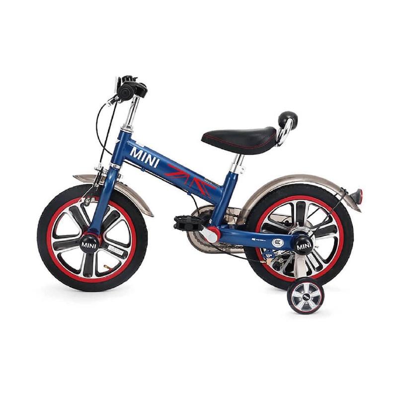 英國 Mini Cooper 城市型兒童自行車/腳踏車14吋-閃電藍