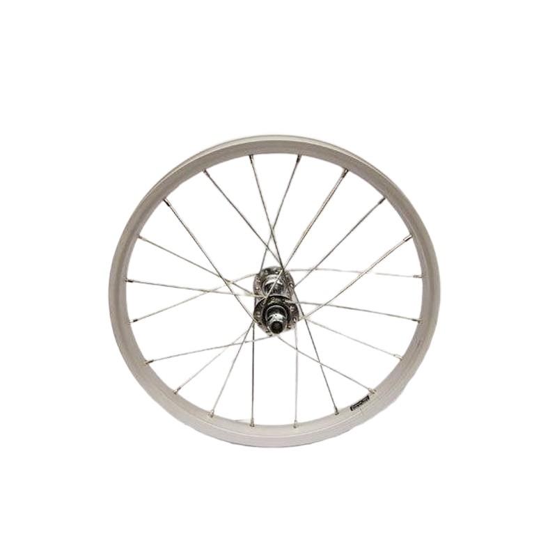 B1516 16吋童車前輪輪組-傳統鎖牙式軸心[05201516]【飛輪單車】