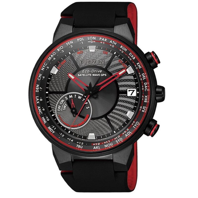 CITIZEN 星辰錶 光動能GPS衛星對時男錶 CC3079-11E 表徑44MM