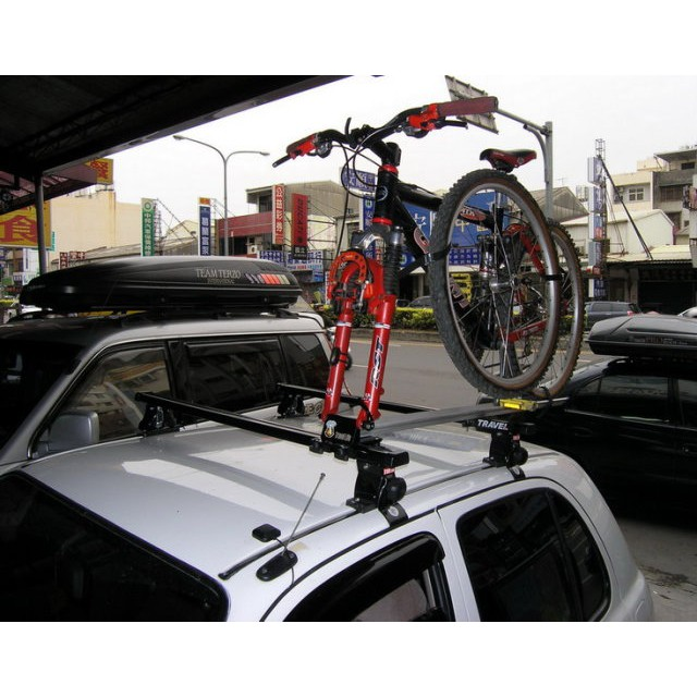 (柚子車舖) 豐田 2006~2012 VIOS 快克 車頂 腳踏車架 自行車架 車頂架