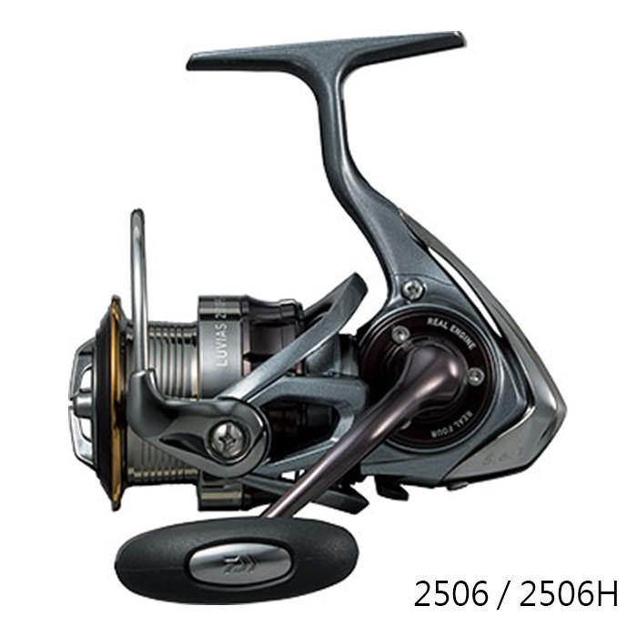 DAIWA LUVIAS 紡車捲線器 2506/2506H/2508PE-DH【百有釣具】高端標準機種 限量正日製品