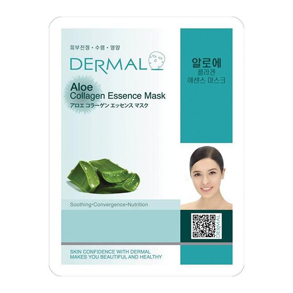 韓國Dermal-蘆薈保濕修護細緻面膜  【大潤發】