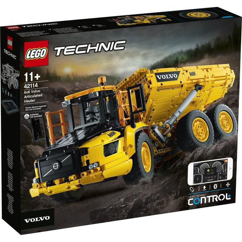LEGO 樂高 積木 玩具 TECHNIC 科技系列 6x6 Volvo鉸接式卡車 42114