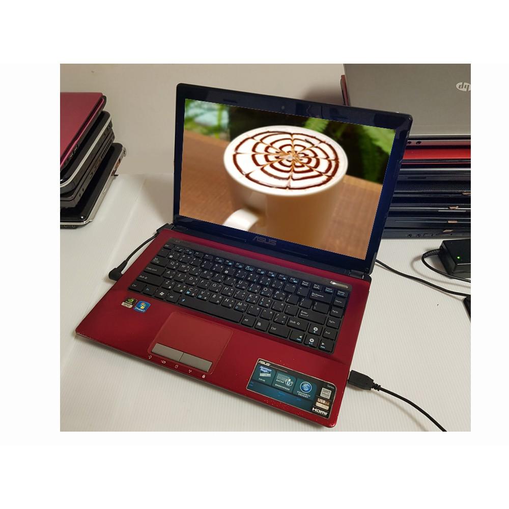 遊戲14吋 ASUS A43S i5【滿分A+】筆電 獨顯 追劇 遊戲 LOL 模擬