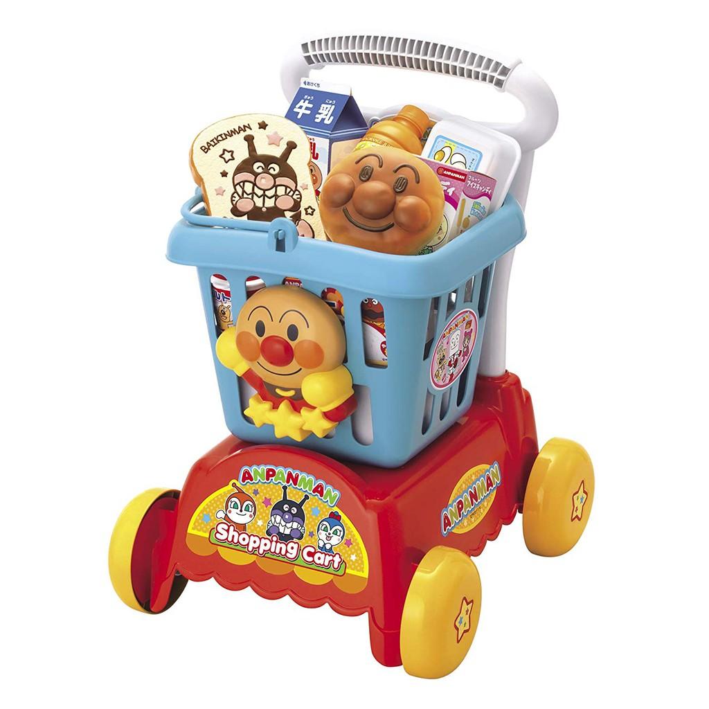 (現貨) 麵包超人 (新款) 家家酒 購物車 購物推車 (日本正版) 《Us的麵包超人》