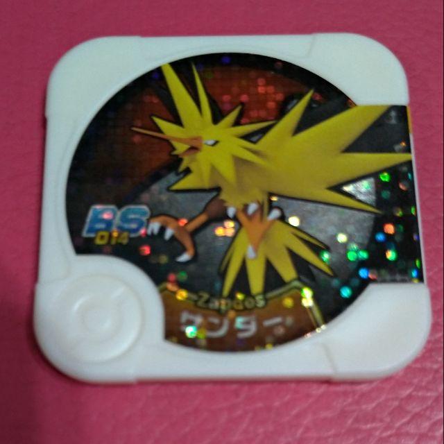 現貨 神奇寶貝pokemon tretta 卡匣 特別01彈 大師等級 級別 四星 4星 閃電鳥