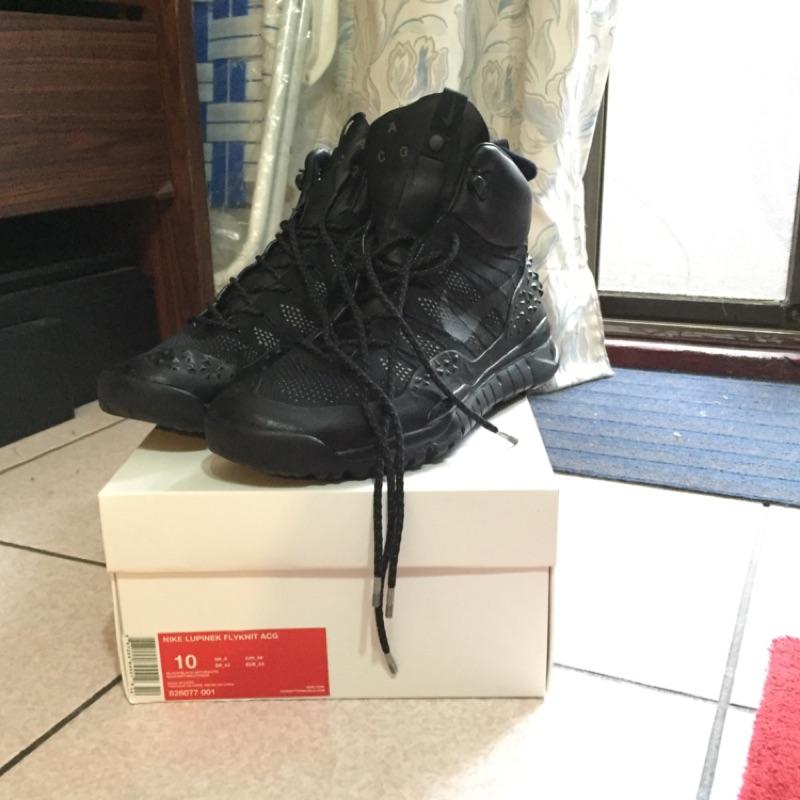 981d273dab93 球鞋補習班NIKE ZOOM TALLAC FLYKNIT ACG 軍士風雪靴登山白黑灰865947-003