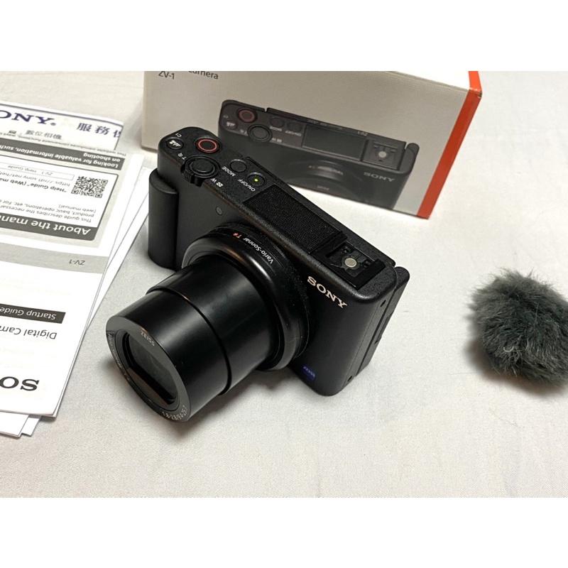 SONY ZV-1 ZV1 數位相機 公司貨 VLOG 4K 二手 二手相機 機況超新 台南可面交 保固中
