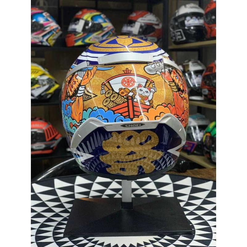 (硬骨頭)類 日本SHOEI X14 招財貓 二代 祭典 摩托車 安全帽 頭盔