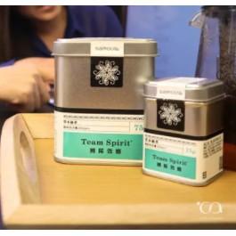 samova 草本綠茶 團隊效應 大鐵罐 兒茶素與白茶 完美戰術的結合