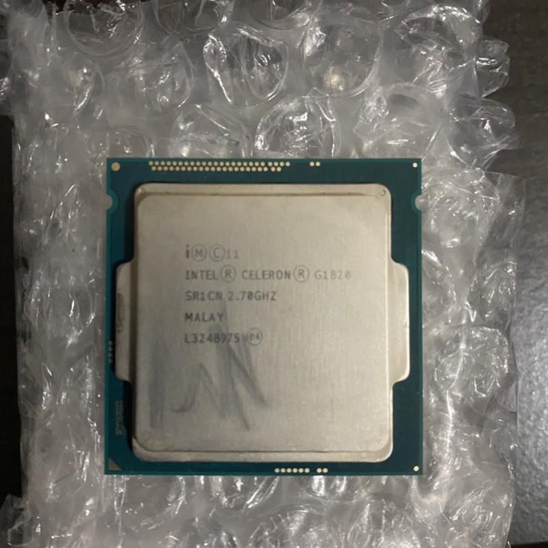 -Intel Celeron G1820 雙核心/2.7G/2M/良品/1150 CPU