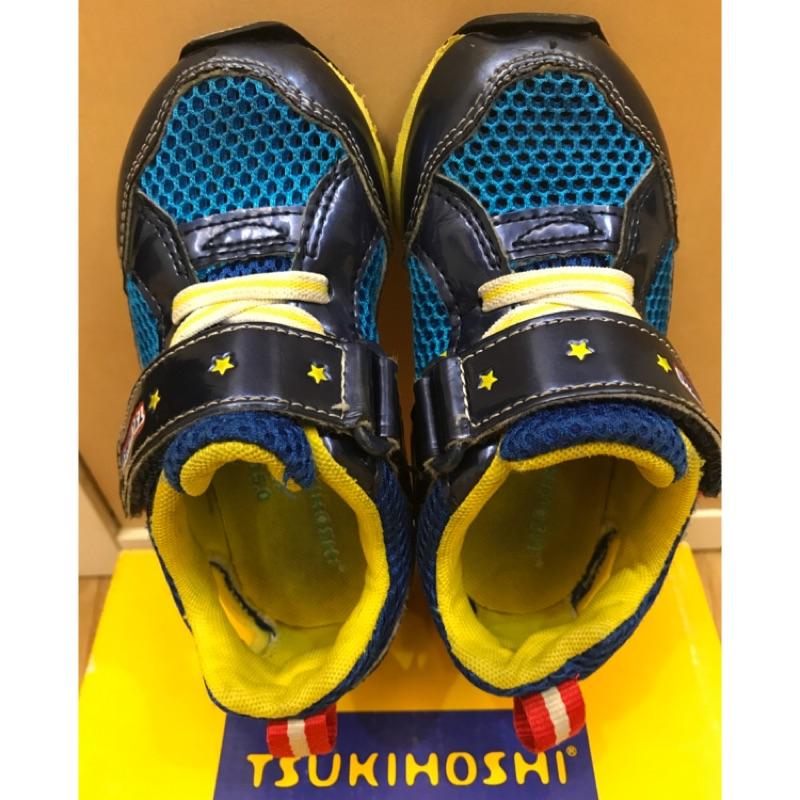 Moonstar 透氣鞋 Tsukihoshi 系列,15cm,二手