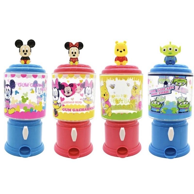 🔥現貨🔥 迪士尼 米奇 米妮 小熊維尼 三眼怪 Pooh Alien 糖果罐 扭蛋機 轉蛋機 扭蛋機造型