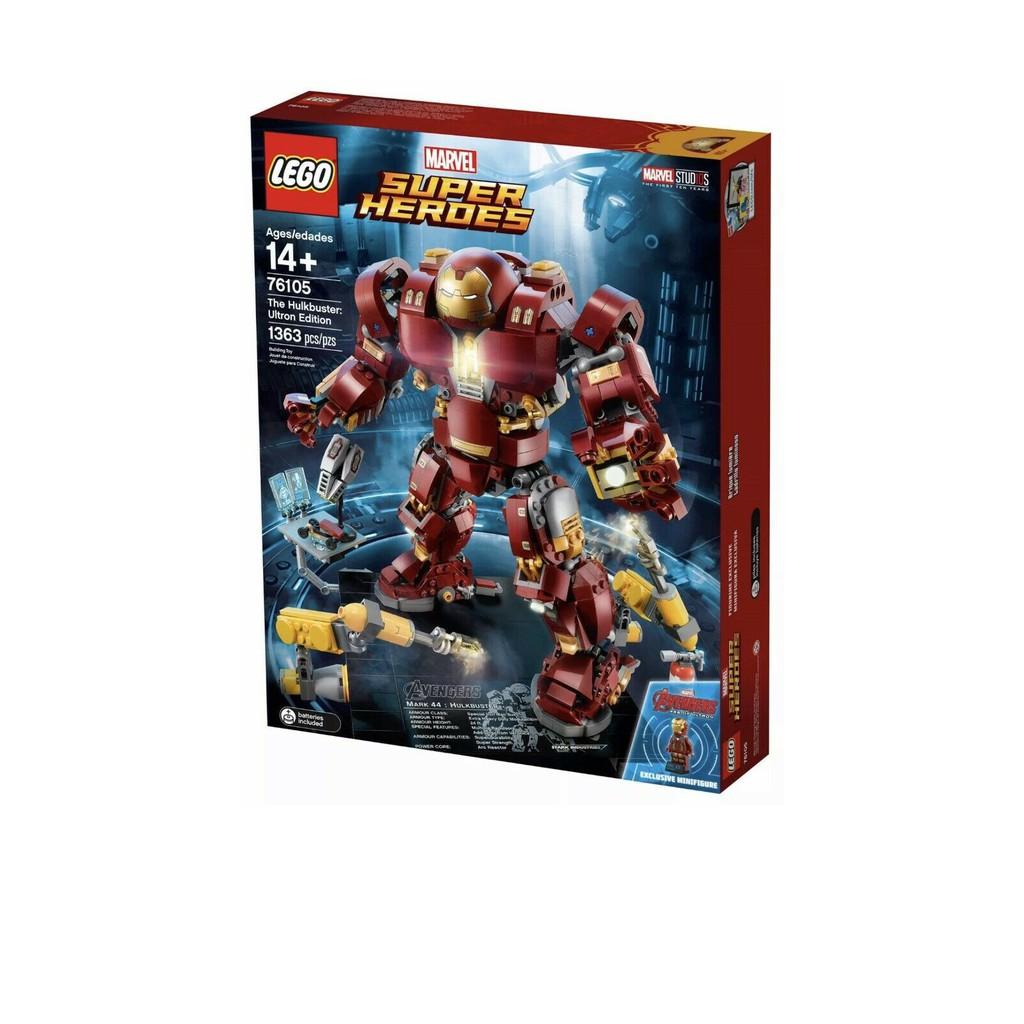 LEGO 樂高 漫威超級英雄系列 浩克毀滅者 76105
