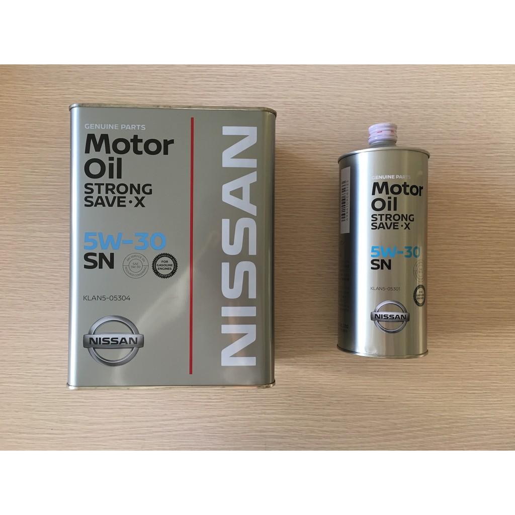 NISSAN 日本原廠機油  5w30 SN  1L 4L 附發票 現貨供應