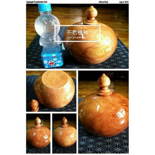【不老檜林】免運 台灣檜木 聚寶盆 開瓶芳香滿 /香包檜木精油文昌筆屑片聚寶瓶