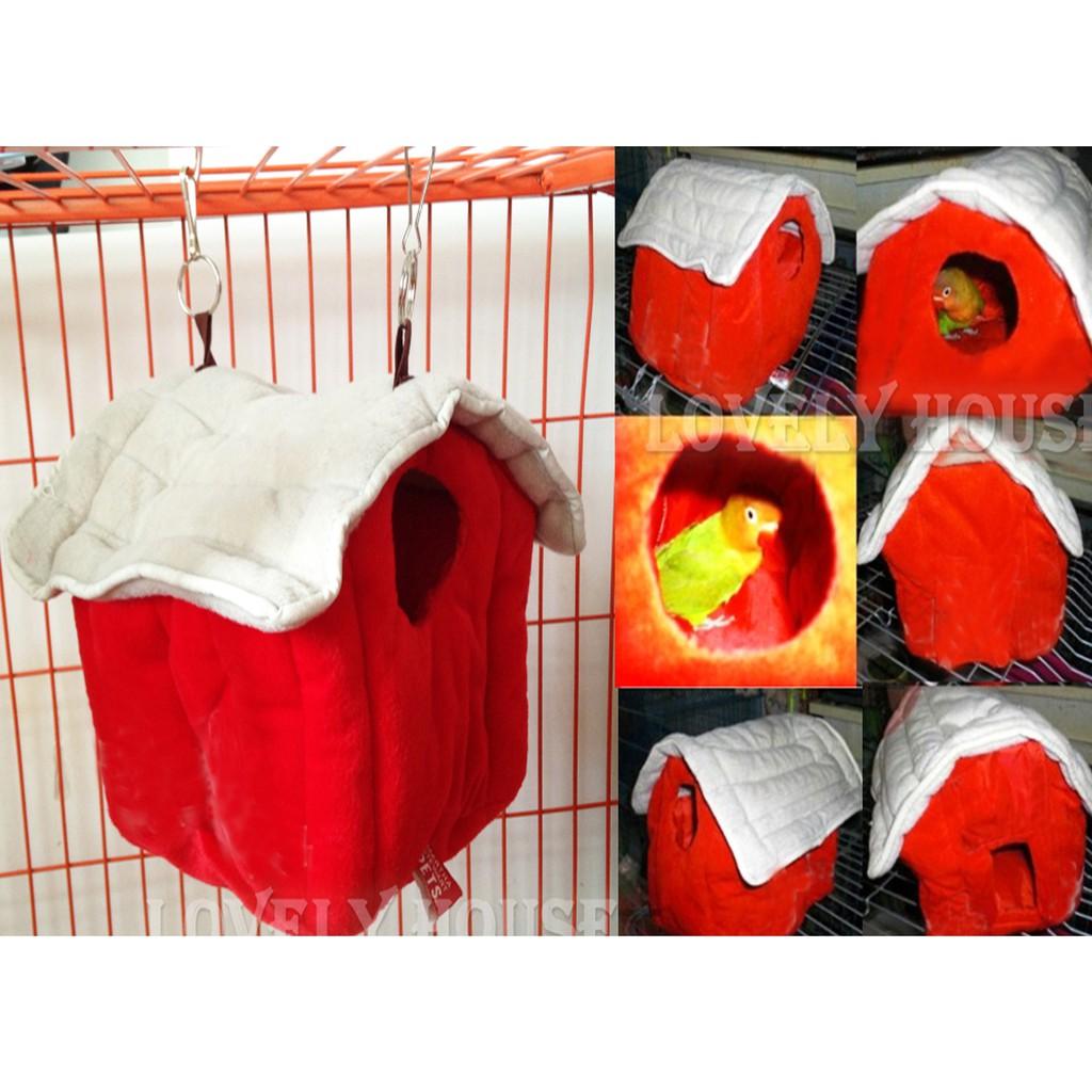 【皮皮鳥】鸚鵡保暖棉窩 鳥睡窩暖窩 龍貓倉鼠兔貂天竺鼠松鼠保暖窩