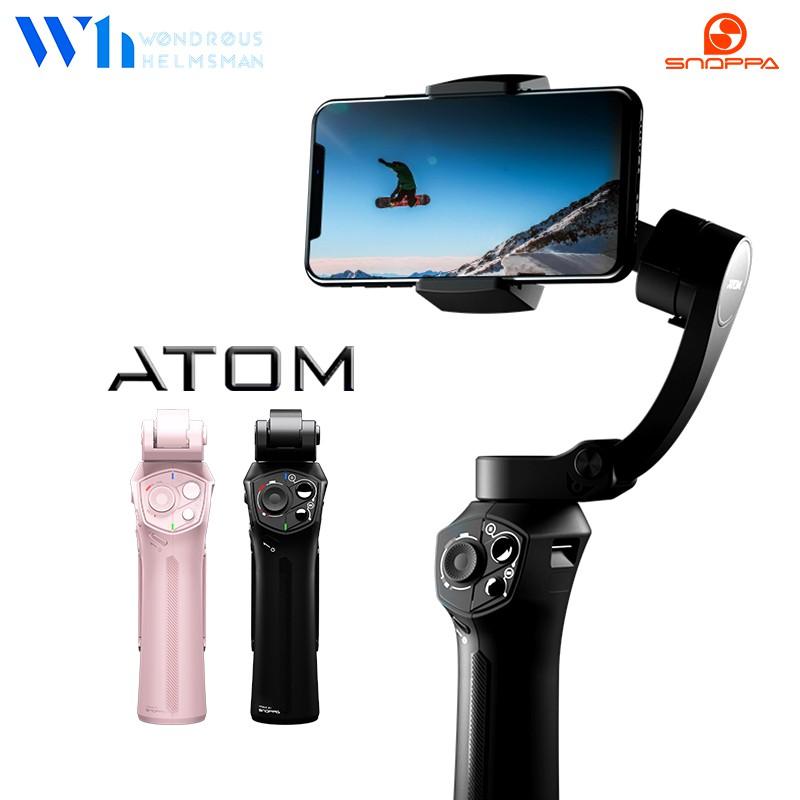 『W.H』Snoppa ATOM 三軸穩定器|贈三腳架/收納袋 折疊式 斜臂式 穩定器 口袋型穩定器