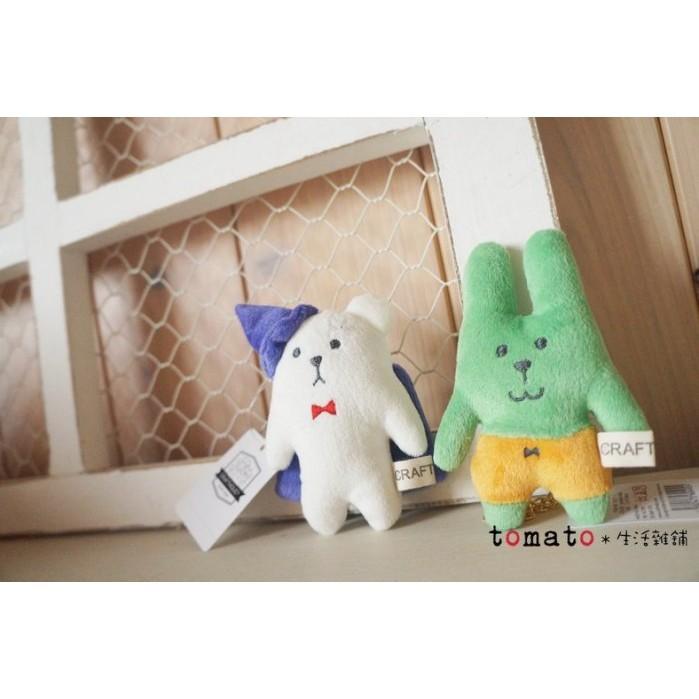 ˙TOMATO生活雜鋪˙日本進口雜貨CRAFTHOLIC萬聖節限定款南瓜兔子幽靈熊布偶吊飾(現貨)
