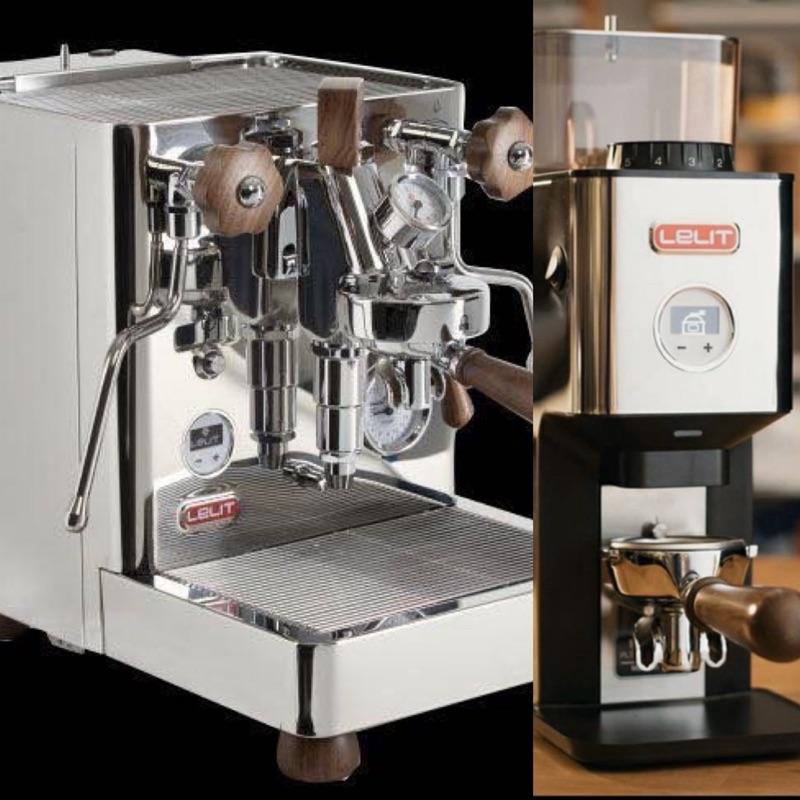 LELIT PL162T義式咖啡機+Lelit William – PL72義式定量磨豆機優惠組合 原價108000