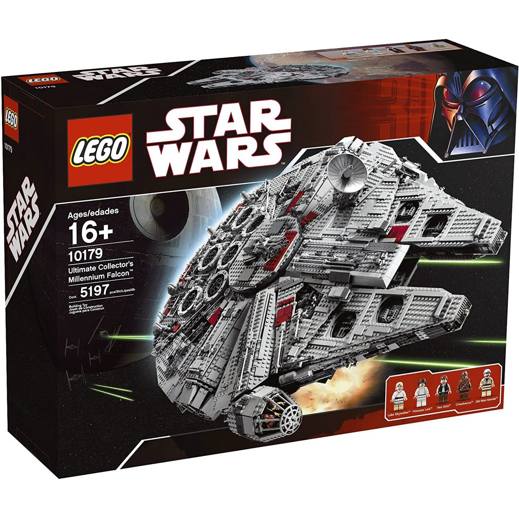 Lego Star Wars 10179 樂高星際大戰 千年神鷹號 初版 絕版逸品