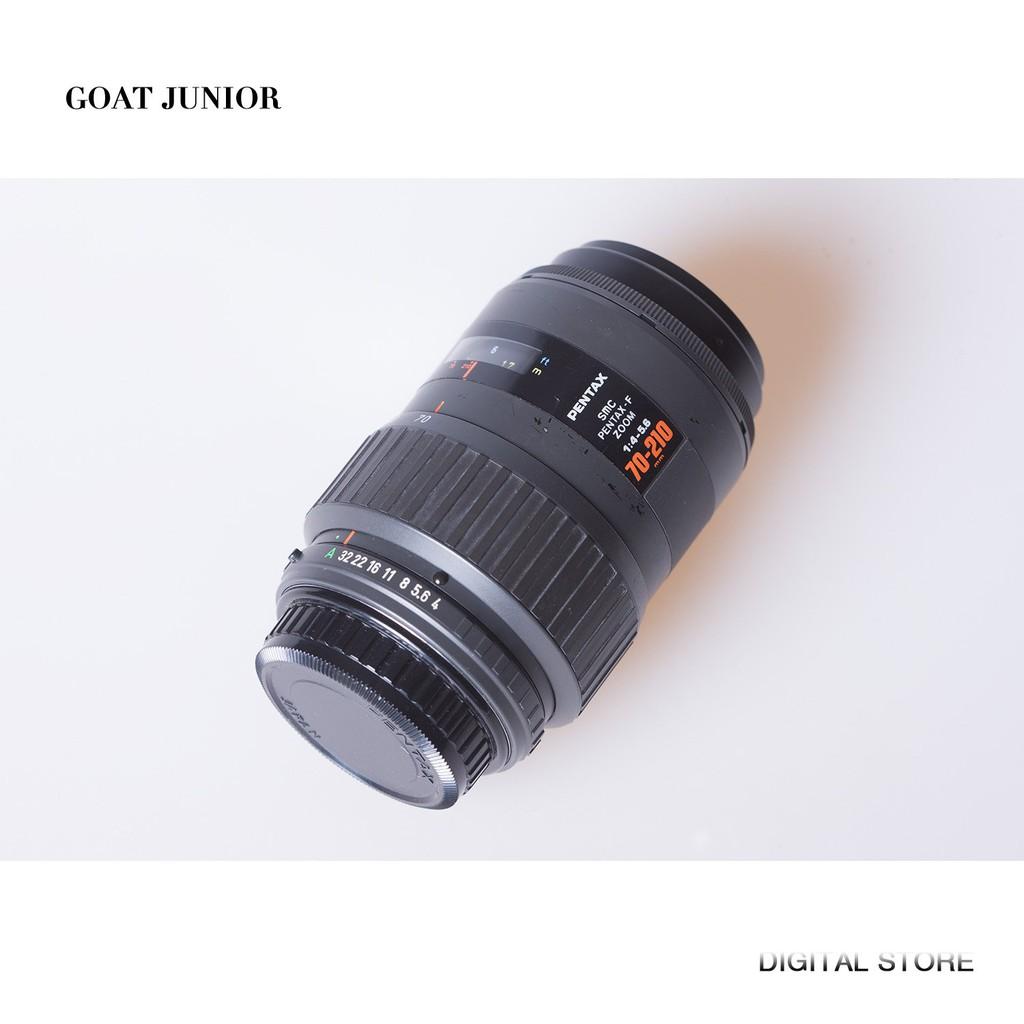 Pentax賓得F70-210mm F4-5.6 SMC全畫幅長焦遠攝鏡頭紅字小金二手