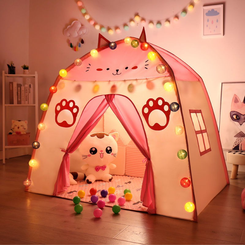 【品質保證】億智兒童帳篷游戲屋室內公主屋小女孩玩具城堡寶寶睡覺趣味游戲屋