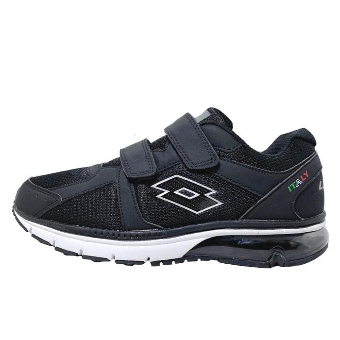 英德鞋坊~LOTTO樂得-義大利第一品牌 男款DELL 氣墊健走鞋 [0860] 黑特價690元