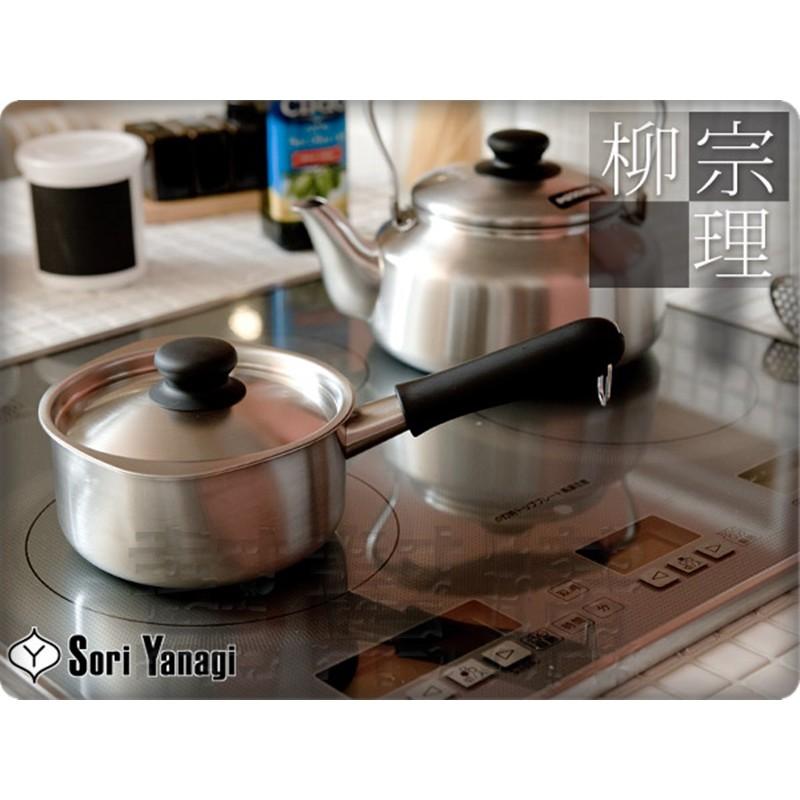 日本 柳宗理 不鏽鋼 開水壺 茶壺 2.5L 水壺 底下有鋼印 日本製