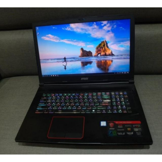 【出售】MSI GE73VR 7RF i7-7700HQ/GTX1070/512GB+256GB+1TB 電競筆電