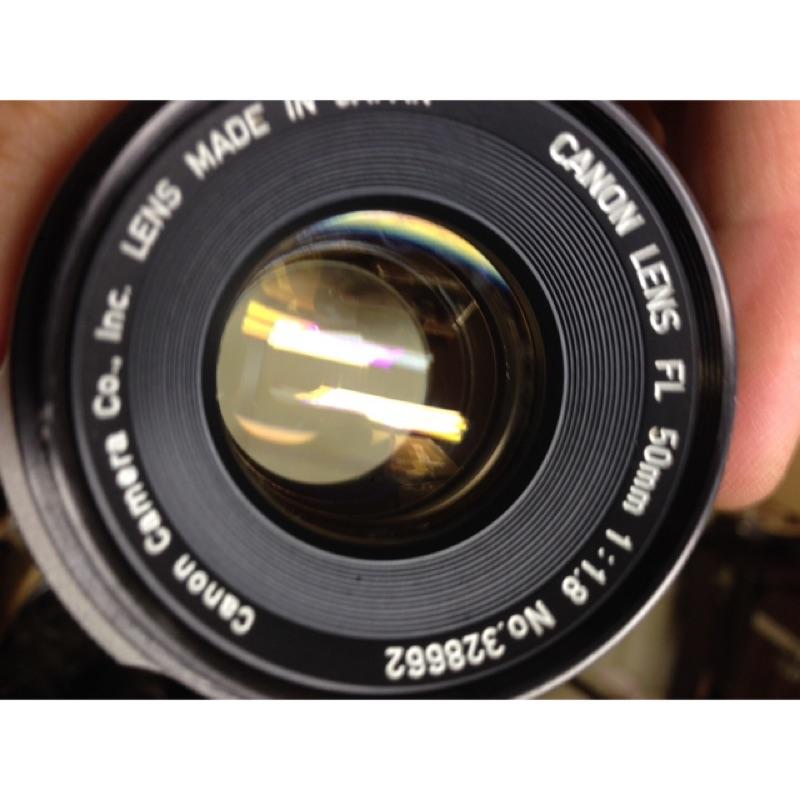鏡頭 50mm f1.8 FL fd canon 手動