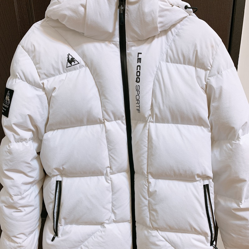 韓版 公雞羽絨外套 le coq sportif(定價11990)
