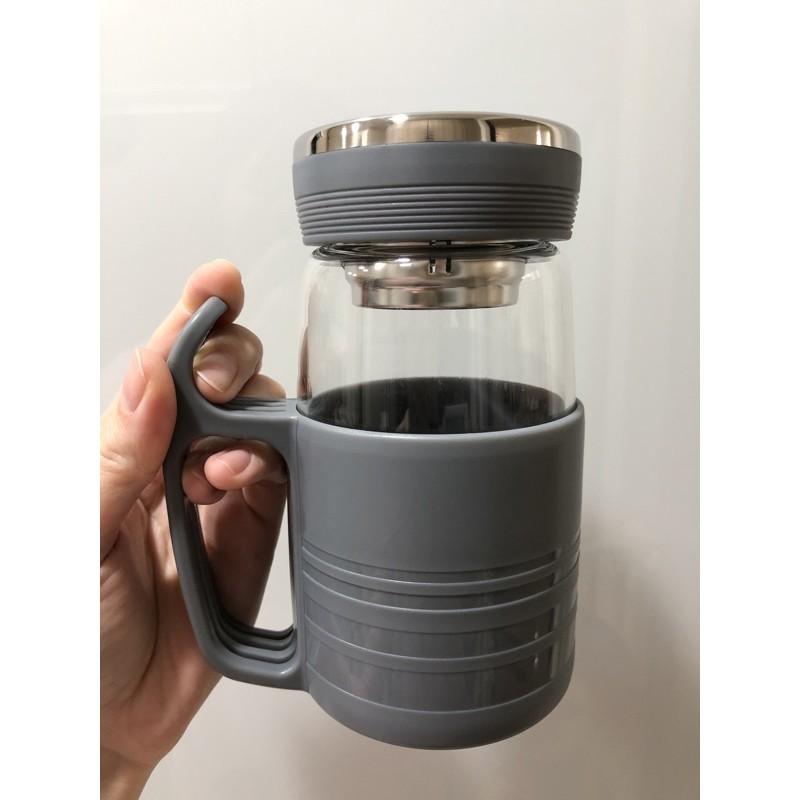 綠貝 強化 耐熱 防燙 隔熱 玻璃 304 不鏽鋼 濾網 咖啡杯 茶杯 沖泡杯