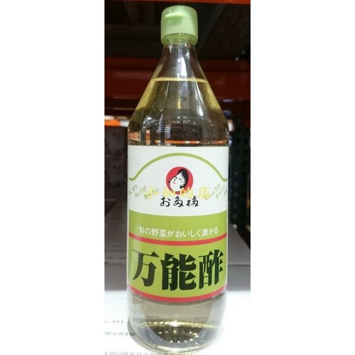 【小如的店】COSTCO好市多代購~日本 第一名店 萬能酢/萬能醋(每瓶900ml)玻璃瓶