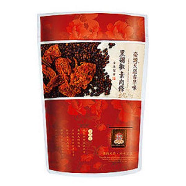 綠源寶~黑胡椒素肉條200公克/包