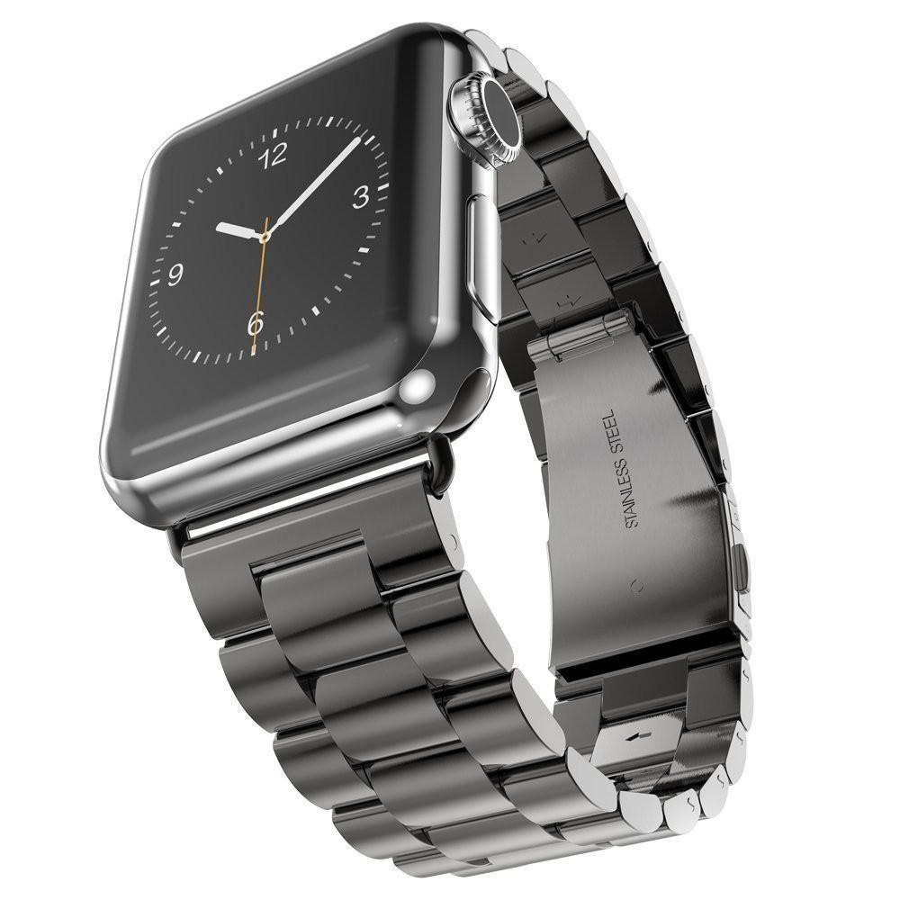 Apple Watch 錶帶 不鏽鋼 時尚淬煉 Series 1/2/3代 38/42mm 適用