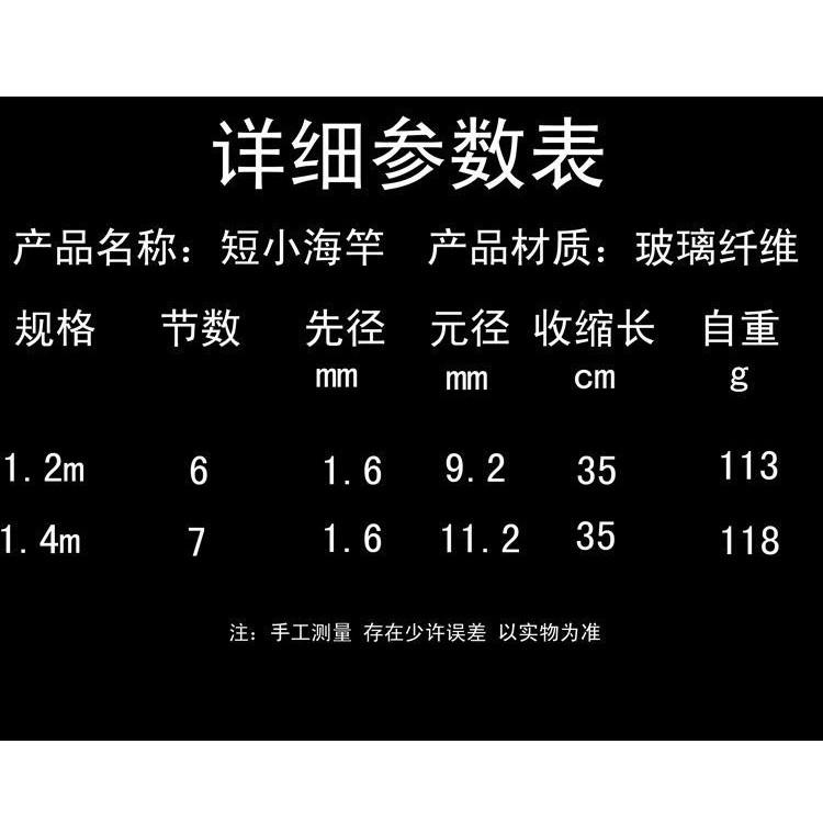 現貨優惠促銷♝❈【有才戶外釣具】 岸拋竿 海竿 超短 槍柄 小拋竿 迷你 海釣竿 1.4米 槍把 伸縮 冰釣竿