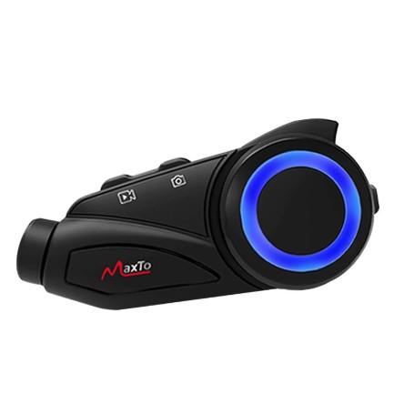 免運超值福利MaxTo M3S 機車行車紀錄器 安全帽藍芽耳機 行車紀錄器 2K高畫質 SNOY鏡頭 藍牙對講