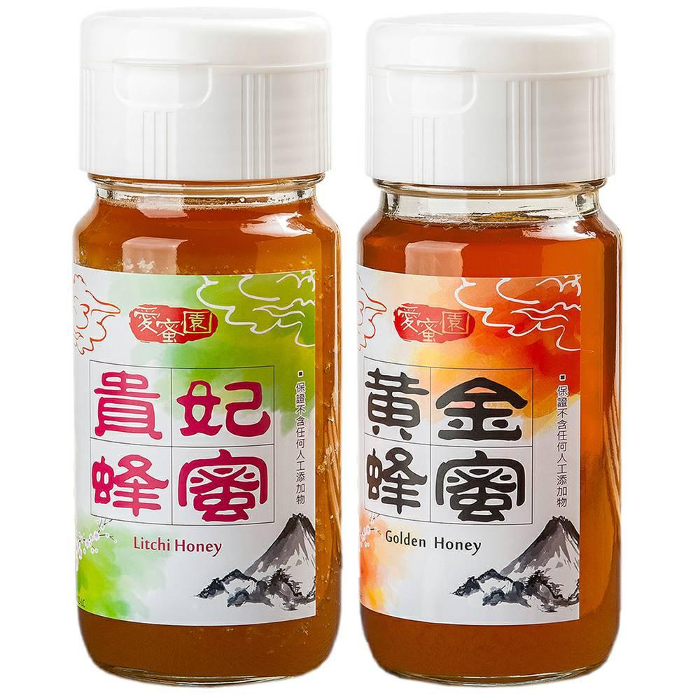 【愛蜜園】嚴選黃金蜂蜜、貴妃蜂蜜(700gx2)