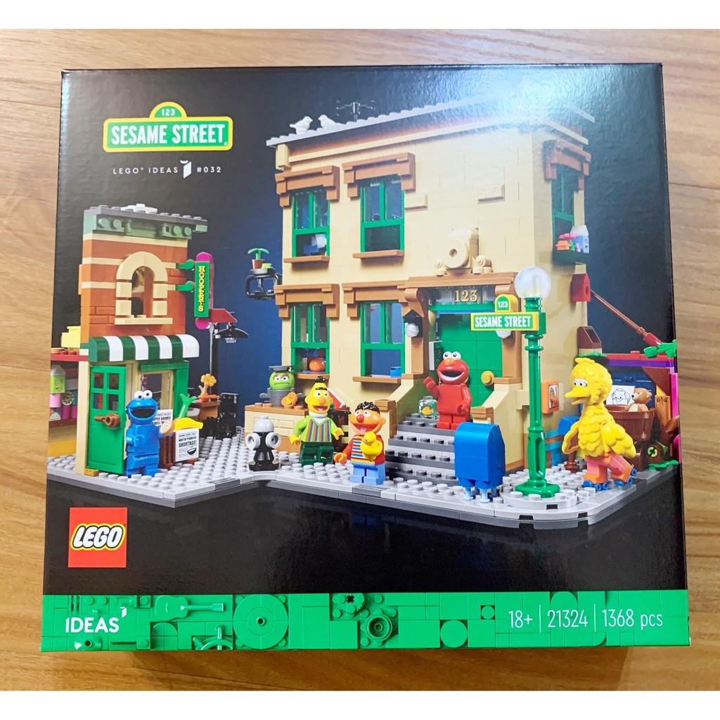 -南港97- 歡迎刷卡 LEGO 21324 Ideas 123 芝麻街 123 Sesame Street