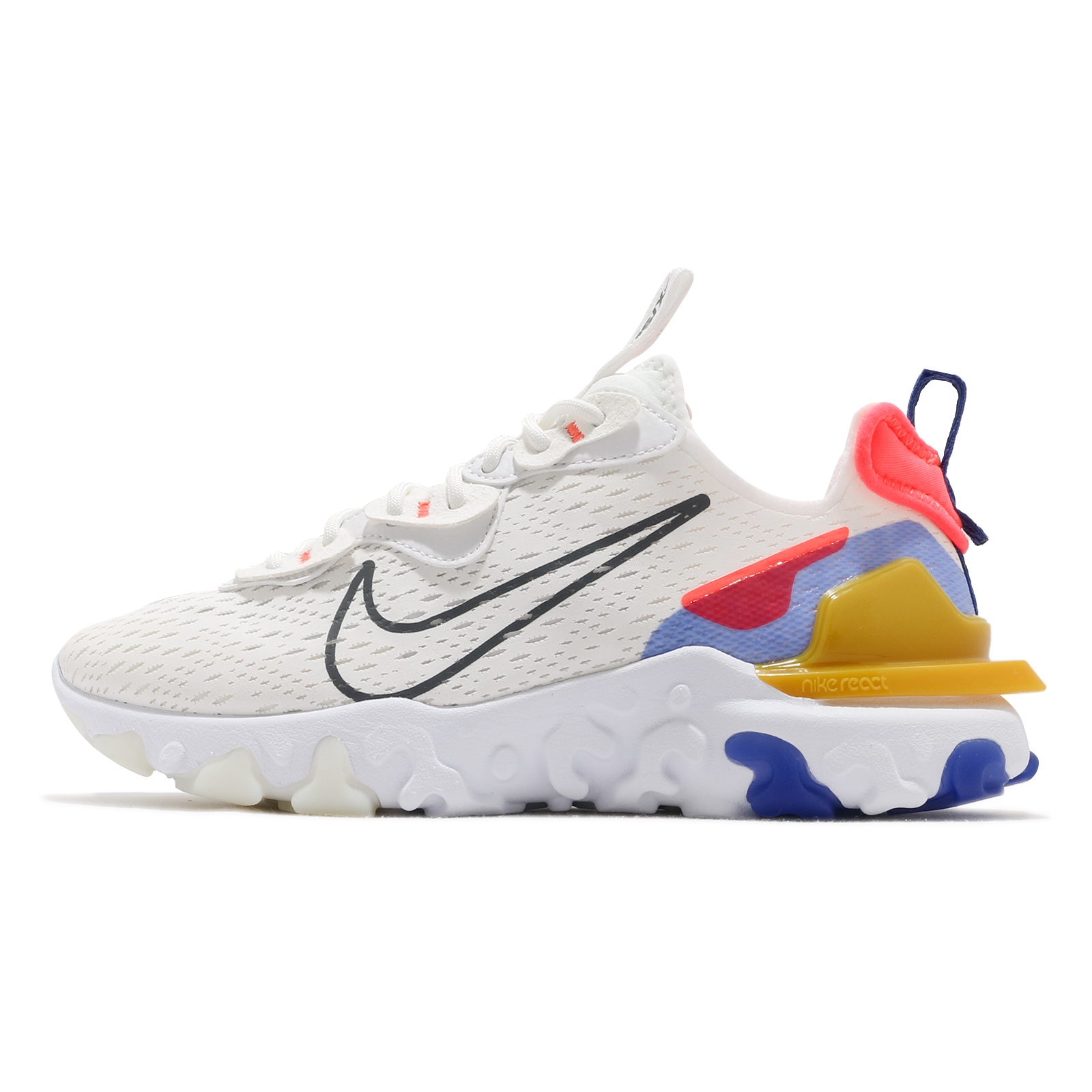 Nike 慢跑鞋 React Vision 灰 橘 藍 桃紅 女鞋 回彈中底 運動鞋 【ACS】 CI7523-101