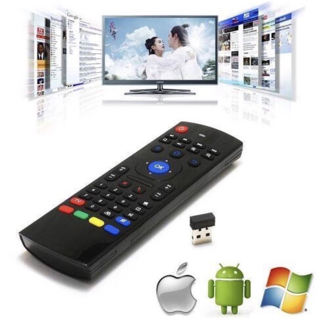 【空中飛鼠遙控器MX3】安博盒子/體感遙控器/智能無線遙控器