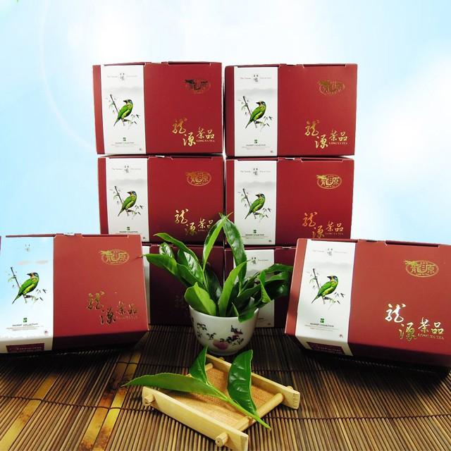 【龍源茶品】台灣擬啄木杉林溪烏龍茶8盒組(150g/盒)-共2斤/附提袋/春茶/高山茶/適合茶几茶具茶壺泡茶