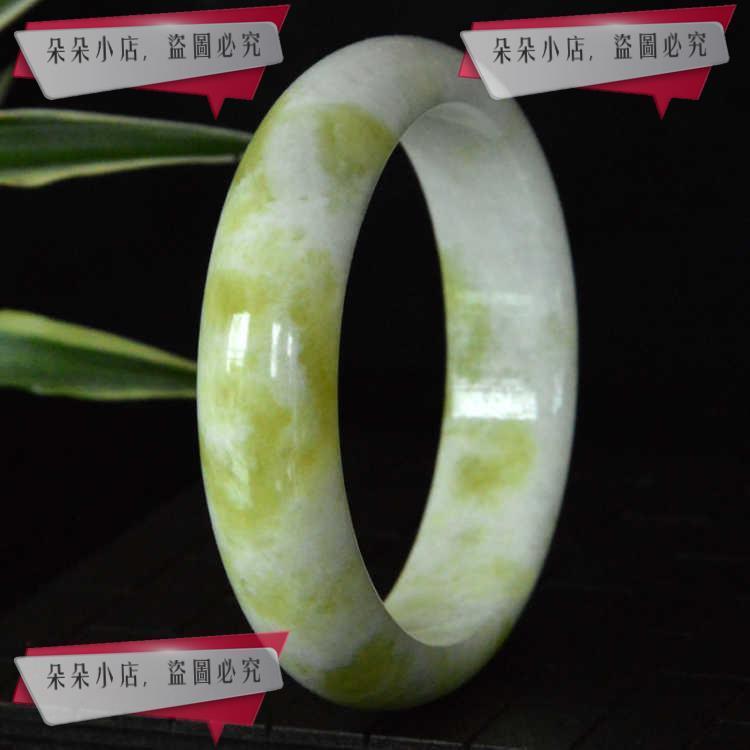 藍田玉手鐲是中國四大名玉和田玉碧玉翡翠玉獨山玉碧玉尺寸58-62m